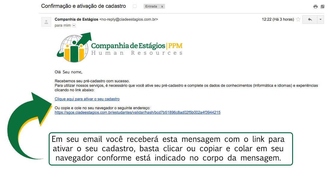 confirmação-de-cadastro-email-cia-de-estágios